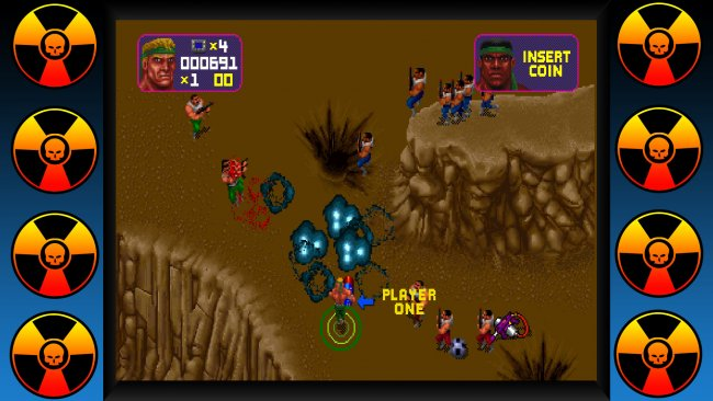 Midway Arcade Origins Total Carnage