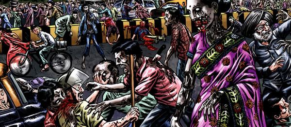 la marcha zombi 2
