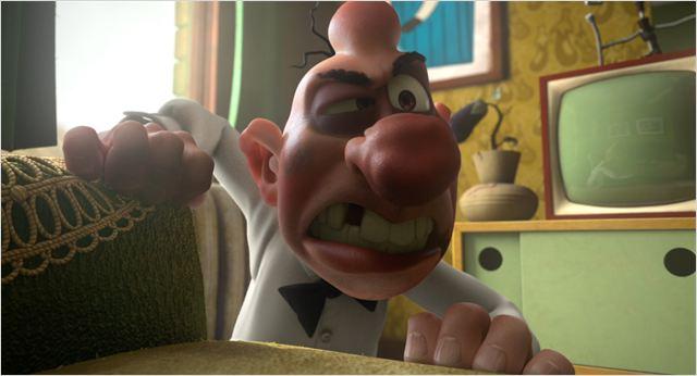 Filemón también recibirá de lo lindo en la película de animación 3D.