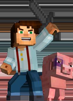 Jeese_y_Reuben_Minecraft_Story_Mode