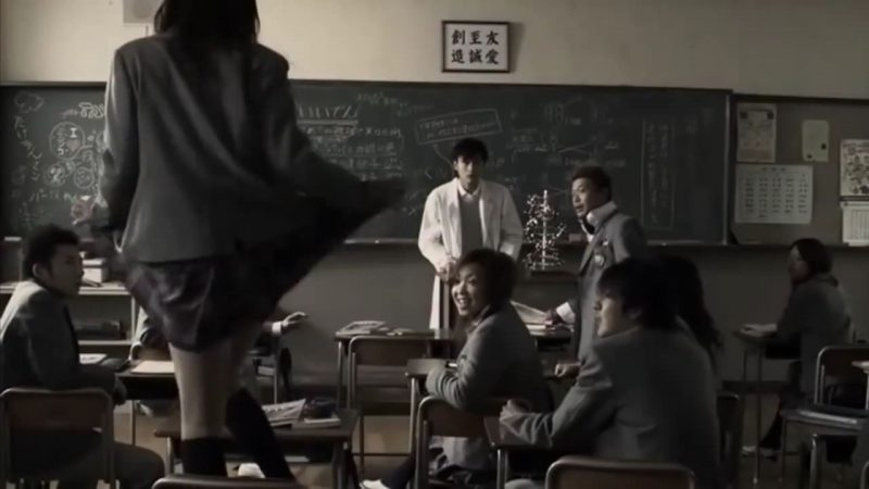 Los alumnos de Hongo se aprovechan de su carácter manso