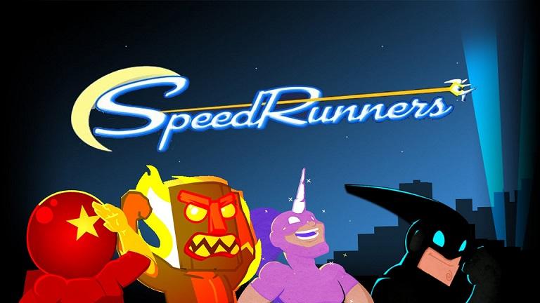 Varios de los personajes del juego deseando que corras con ellos