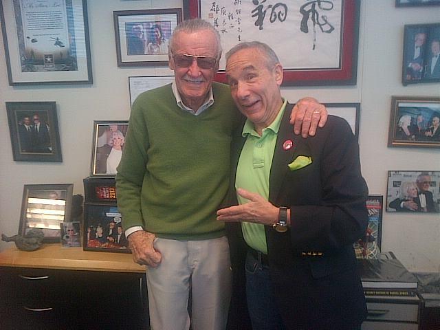 Stan Lee y Lloyd Kaufman