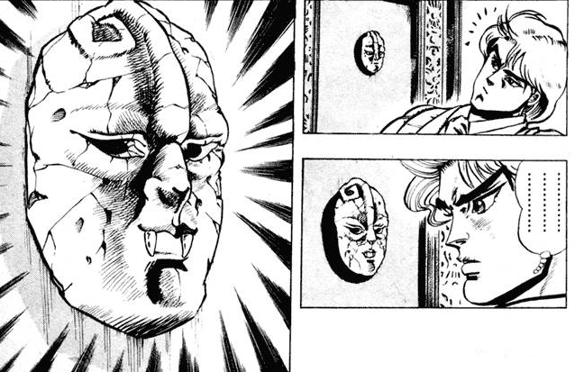 La máscara de piedra, clave en los planes de Dio