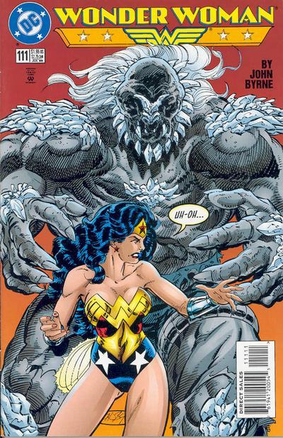 Doomsday en la colección de Wonder Woman