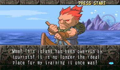 Pocket Fighter Akuma Story