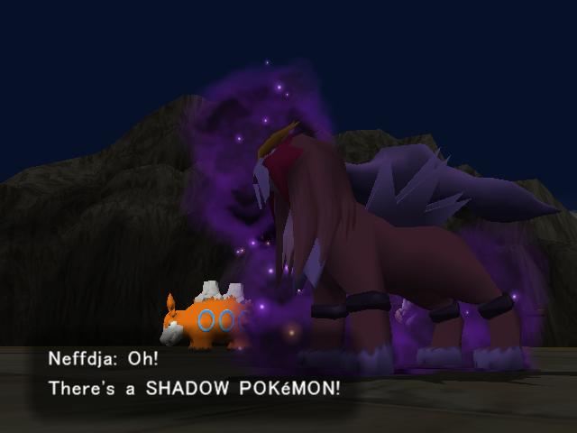 Un pokémon oscuro