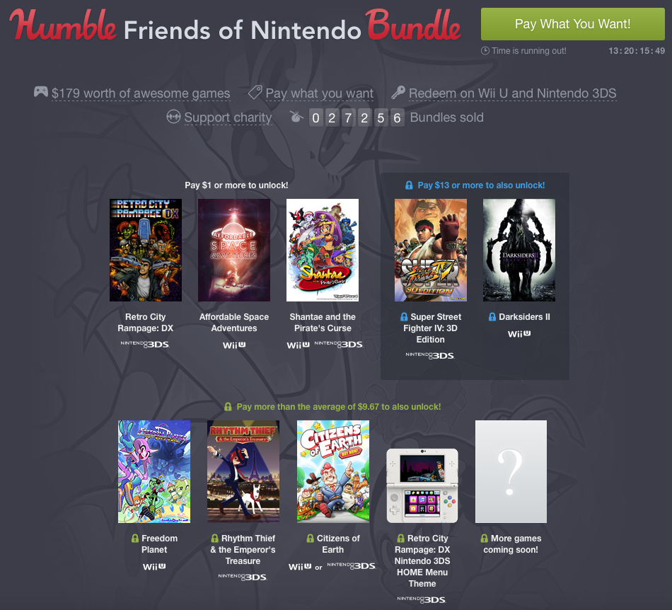 Humble Friends of Nintendo