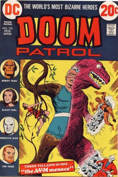 Animal Vegetal Mineral Man contra la Doom Patrol