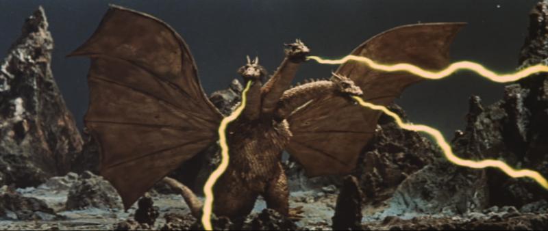 Monstruo 0 también conocido como Ghidorah
