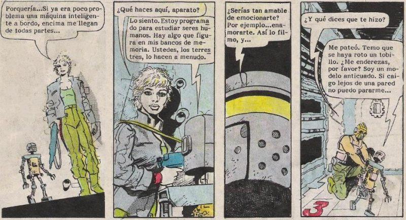 Gwendolyn odia a los robots