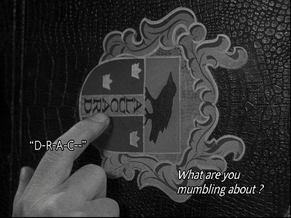 El nombre Alucard es la gran contribución de esta película a la historia de los vampiros