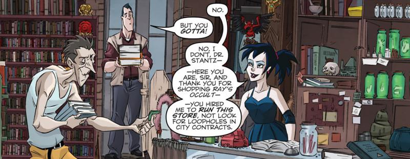 Kylie Griffin en los cómics