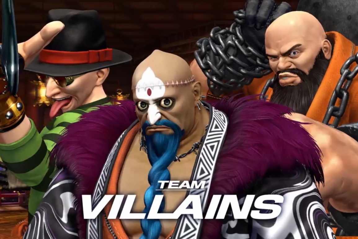 The King of Fighters XIV: Team Villains