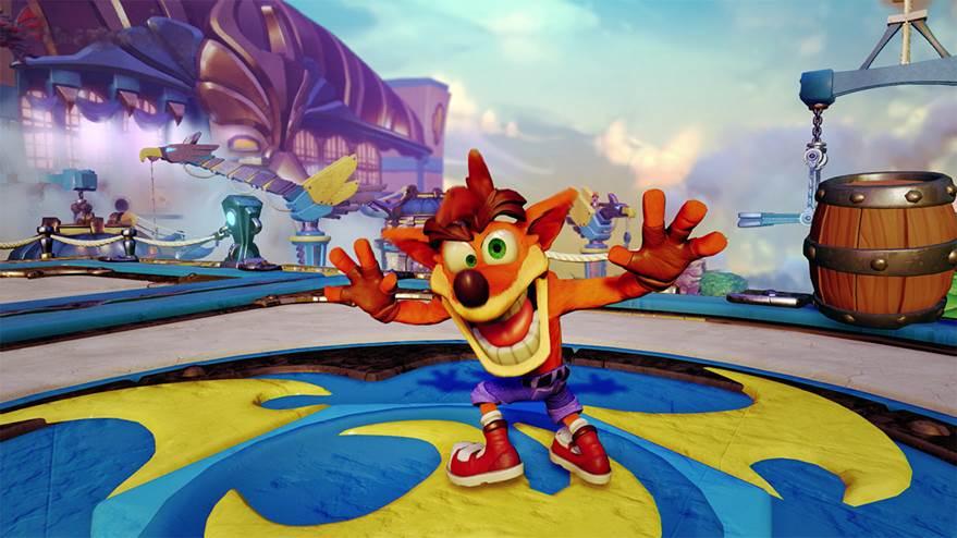 Crash Bandicoot en Skylanders Imaginators