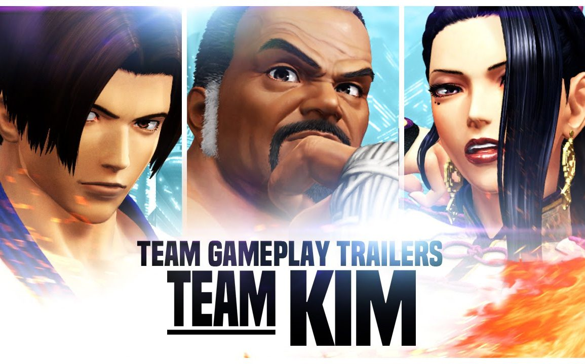 The King of Fighters XIV - Team Kim
