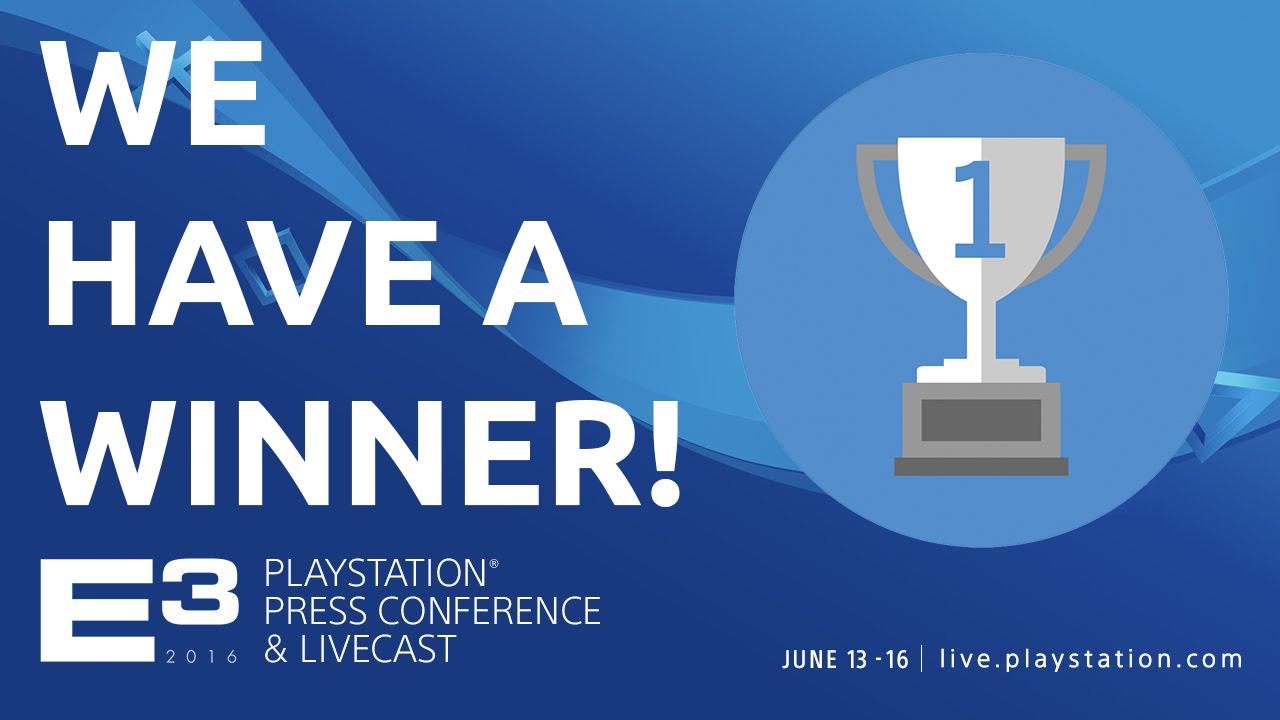 Sony E3 Wins