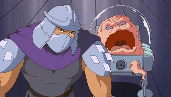 Shredder y Krang un matrimonio mal avenido