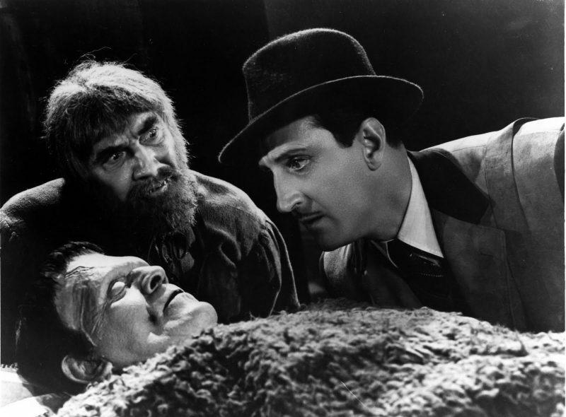 Ygor, el monstruo y Wolf Von Frankenstein