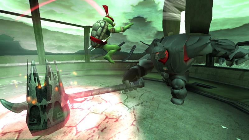 Rafael contra uno de los jefes