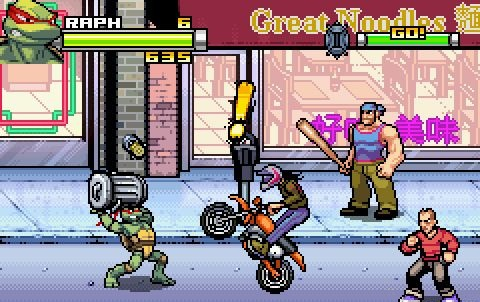TMNT en Game Boy Advance