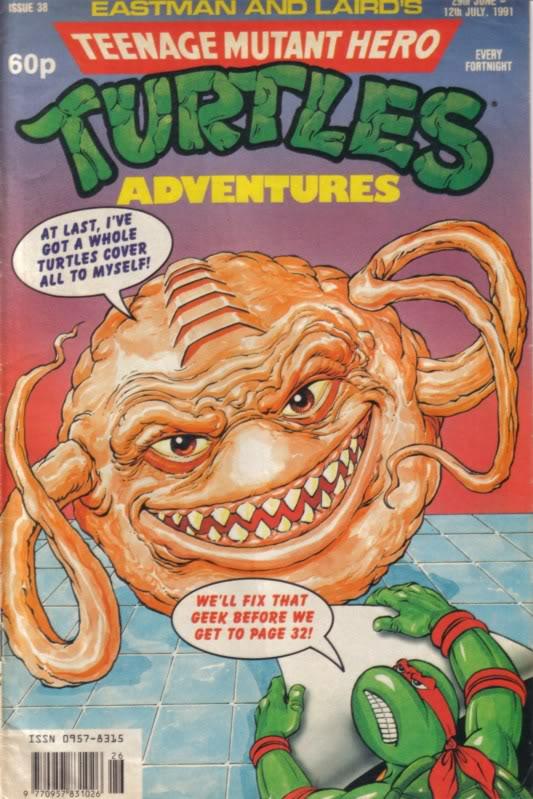 Krang buscando protagonismo en Archie Comics