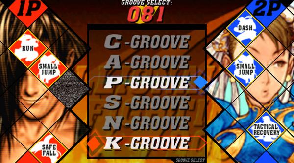 Elige el Groove que mejor se adapte a tu estilo de lucha