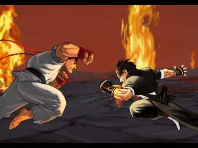 Capcom VS SNK 2 intro