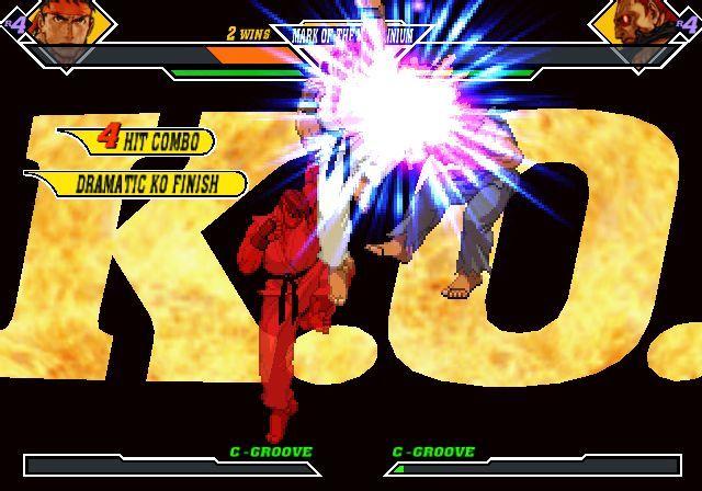 Los Dramatic KO Finish nos ayudarán a ganar puntos de pelea