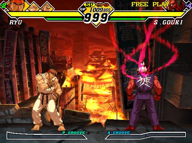 Combate contra Shin Akuma