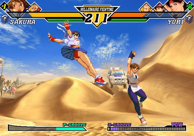 Sakura contra Yuri, las colegialas karatekas