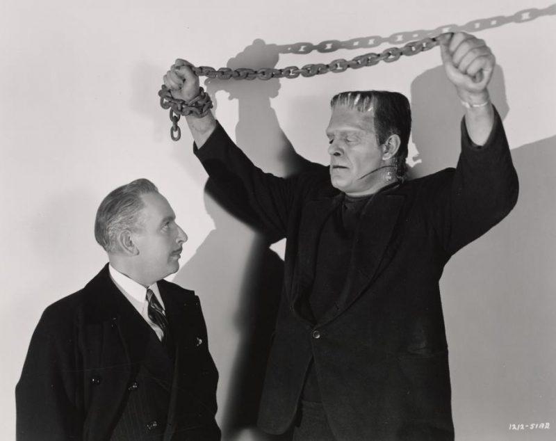 Ludwig Frankenstein y el monstruo