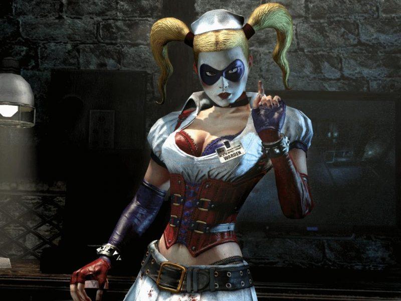 Harley, la enfermera sexy de Arkham Assylum