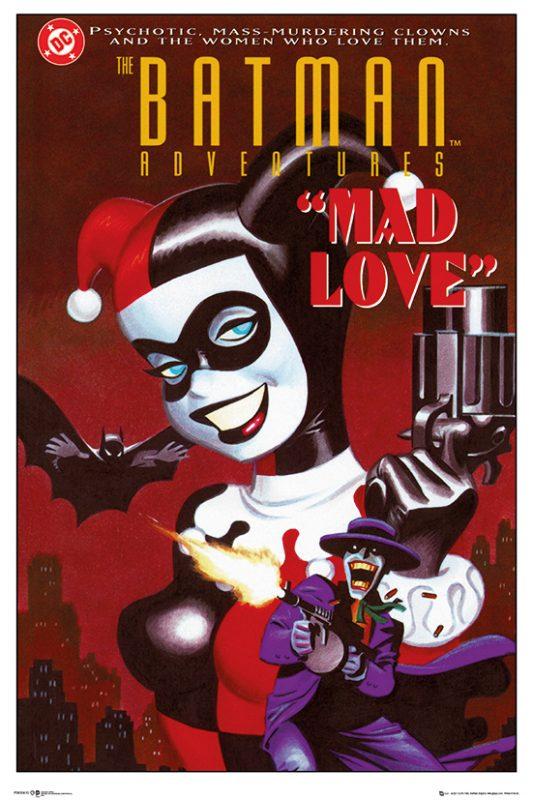Mad Love, Harley da el salto al cómic