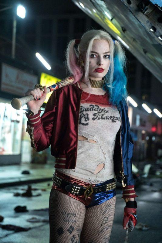 Harley en la película de Suicide Squad