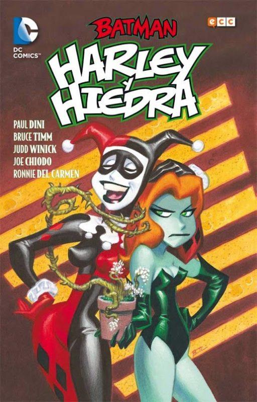 Cómic de Harley Quinn y Poison Ivy