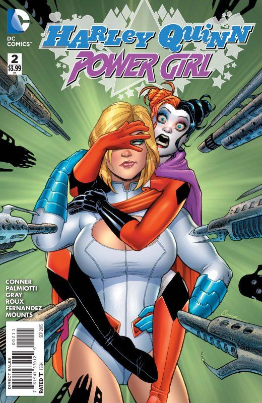 Harley Quinn Power Girl comic