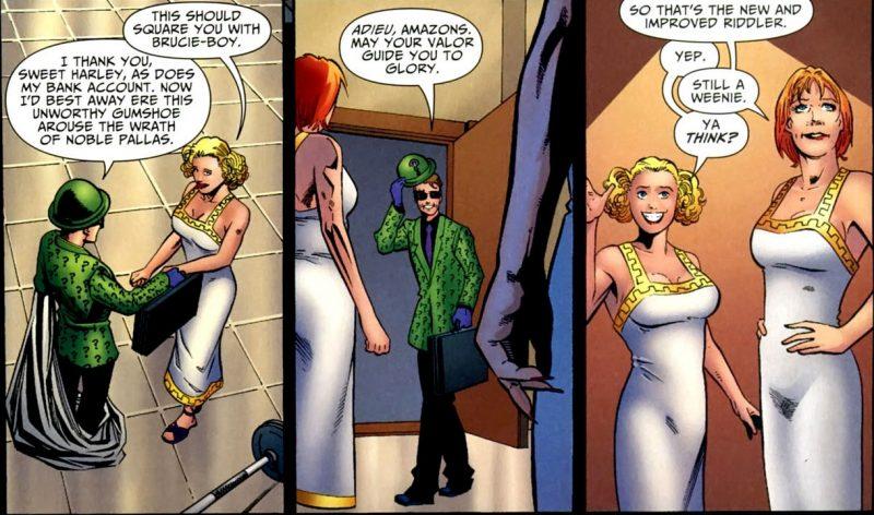Harley Quinn con las amazonas