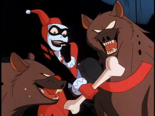 Harley Quinn y sus hienas