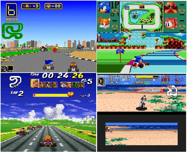 Mario Kart Clones