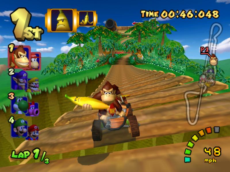 La banana gigante, el objeto especial de DK y Diddy