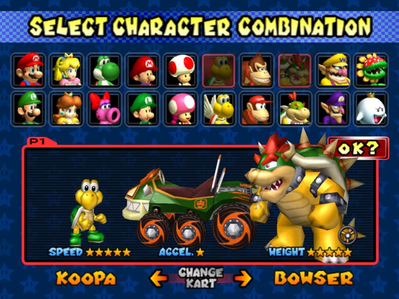 Gran cantidad de personajes y vehículos