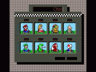 Los ocho personajes