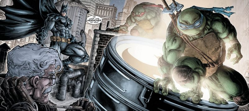 Las tortugas han llegado a Gotham