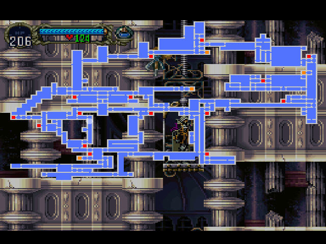 Mapa a lo Super Metroid