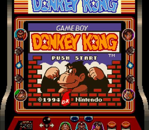 Tiene un marco propio para Super Game Boy.