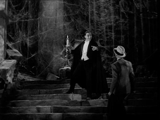 Renfield conociendo a Drácula