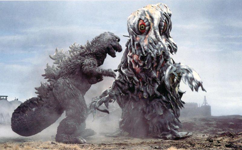Combate entre Godzilla y Hedorah