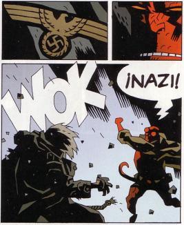 No le agradan los nazis.
