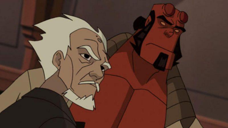 Hellboy en las películas animadas.